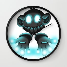 Monkey Glove Lights Wall Clock
