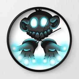 Monkey Glove Lights Wall Clock