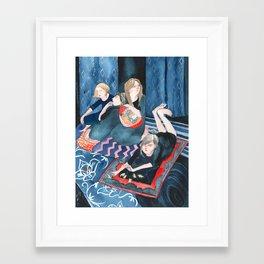 Animal Cracker Lounge Framed Art Print