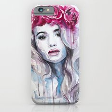 Red Rose Crown Slim Case iPhone 6s