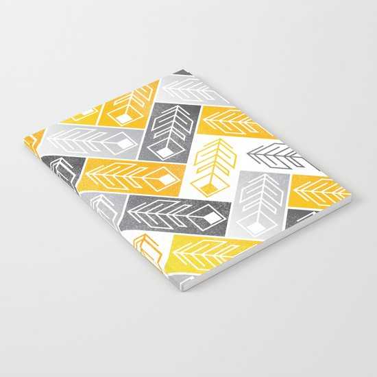 Bright Geometric Print Notebook