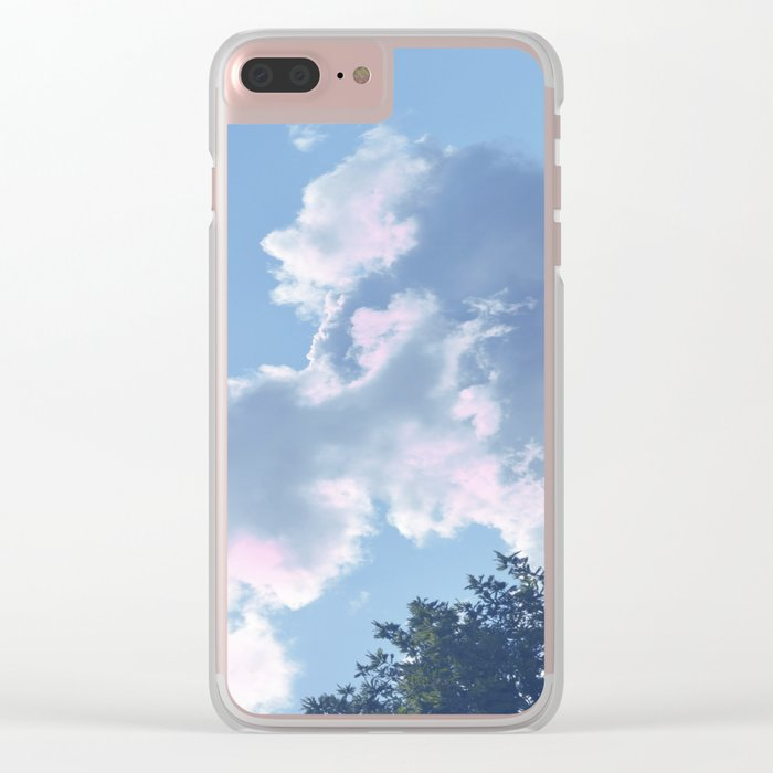 The Colour of Clouds 01 Clear iPhone Case