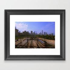 Chicago Transit Authority Framed Art Print