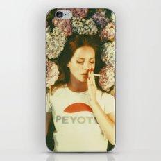Flowers & Cigarettes iPhone Design iPhone & iPod Skin