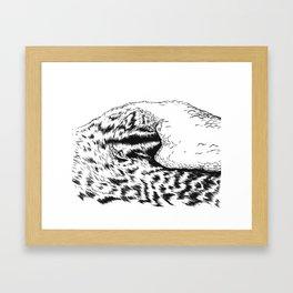 SURFRIDER Framed Art Print