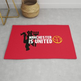 Manchester Is United Rug