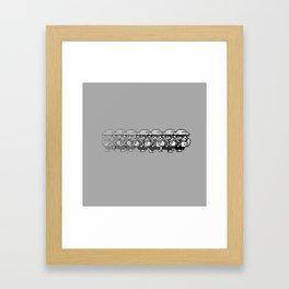 Wario Dash Framed Art Print