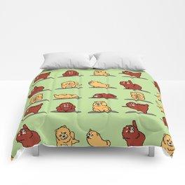 Chow Chow Yoga Comforters
