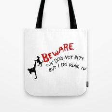 I do kung fu Tote Bag