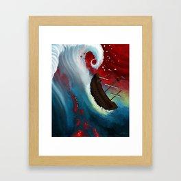 Diluvian Framed Art Print