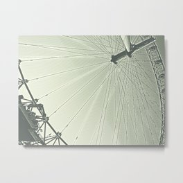 thewheel Metal Print