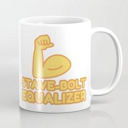 STAVE-BOLT EQUALIZER - funny job gift Coffee Mug