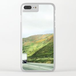 California mountains Clear iPhone Case