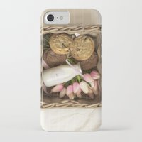 cookie iPhone & iPod Cases featuring Cookie by Noura Aljarbou