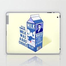 Milk was a Bad Choice ~ Brick Wanted (Anchorman) Laptop & iPad Skin