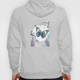 Butterflies At Night Hoody