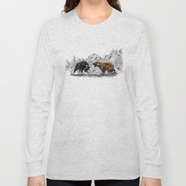 Bull and Bear Long Sleeve T-shirt