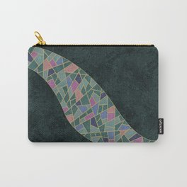 Geometric Marble 02 (abstract) Carry-All Pouch