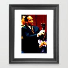 OJ Framed Art Print