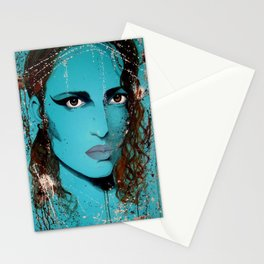 Anger eyes Stationery Cards