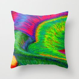 Zig When You Can Zag Throw Pillow