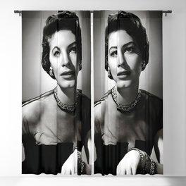 Ava Gardner Poster, Old Hollywood Canvas, Vintage Poster Blackout Curtain