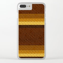 Tiger's Eye Clear iPhone Case
