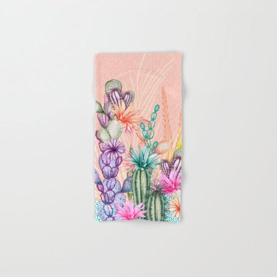 Cacti Love Hand & Bath Towel
