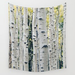 Aspen Trees Wall Tapestry