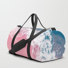 Pink Beach Duffle Bag
