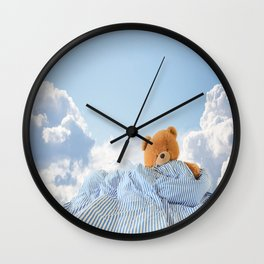 Sweet Dreams - Teddy Bear's Nap Wall Clock