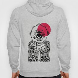 Yakuza Diver from Japan Hoody