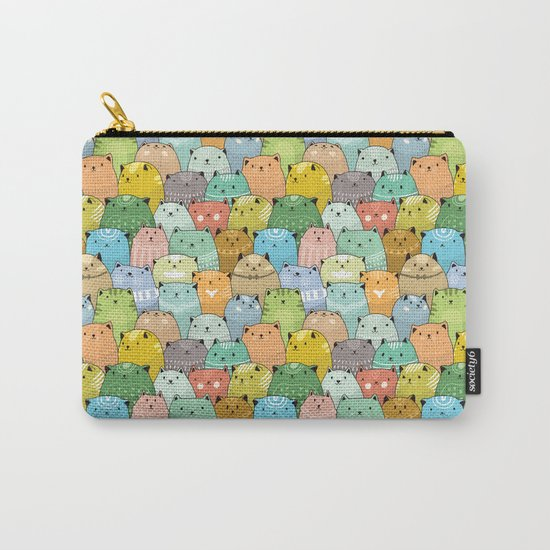 Catz Pattern Carry-All Pouch