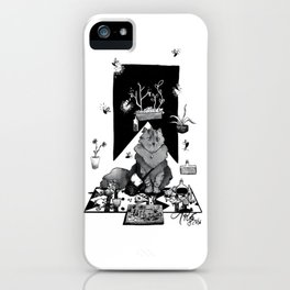 Merchant Cat iPhone Case