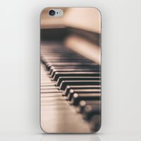 piano iPhone & iPod Skins featuring Piano by Juste Pixx Photography