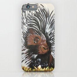 Porcupine by Noelle's Art Loft iPhone Case