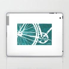 Teal Bike Laptop & iPad Skin