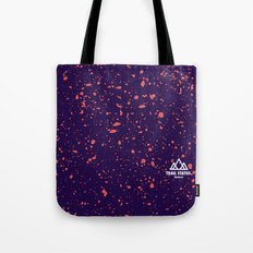 Trail Status / Purple Tote Bag