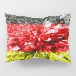 Extruded Flag of Germany Pillow Sham