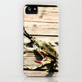 CrabWalk iPhone Case
