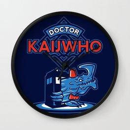 Doctor KaijWho Wall Clock