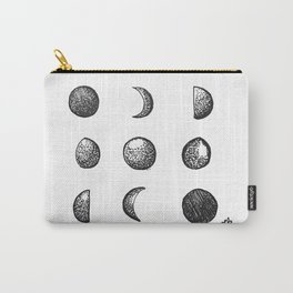 Phases of the Moon // Lunar Cycle Carry-All Pouch