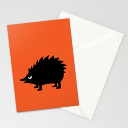 Angry Animals: hedgehog Stationery Cards