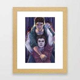 Possessed and Possession Framed Art Print