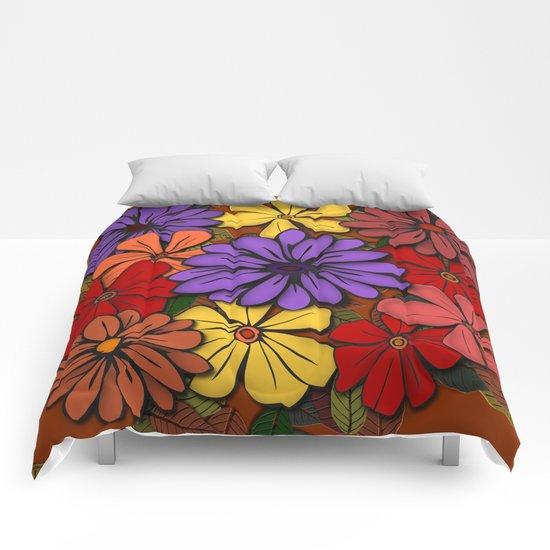 Flower Power! Comforters