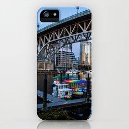 Granville Island Bridge iPhone Case