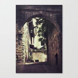 Ancient Alley Canvas Print