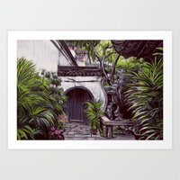 Shanghai Garden Art Print
