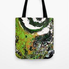 Kelly Green Agate Tote Bag