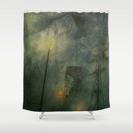 Treachery Shower Curtain